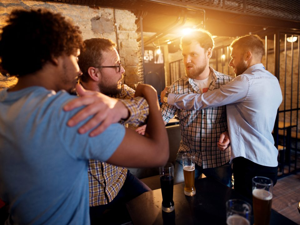 Bar Fights can lead to Aggravated Assault and Battery in Texas